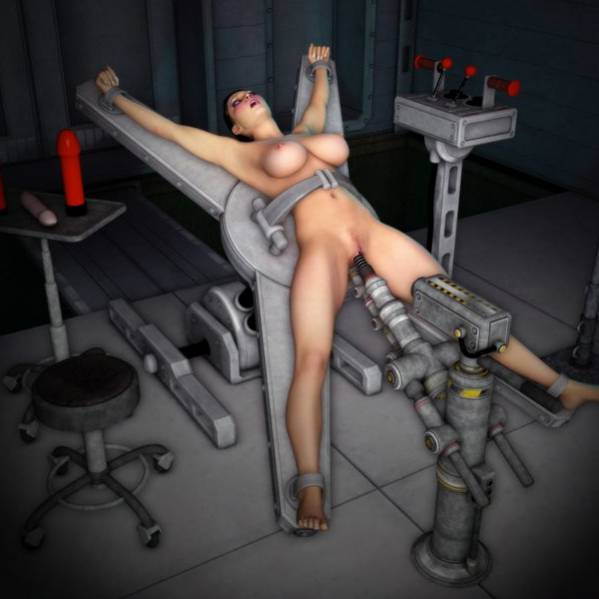 Bondage artwork Lesbian